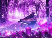 《母亲的微笑》梦幻唯美动态晚会比赛舞台LED背景视频