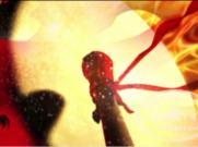 喜庆中国风鼓舞中国打大鼓|敲鼓打鼓|舞蹈表演背景LED视频素材