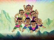 《葫芦娃》儿童舞蹈舞台LED背景视频