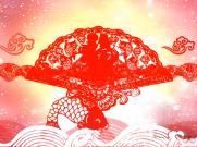 《剪纸姑娘》儿童节舞蹈文艺演出表演舞台大屏幕LED背景视频